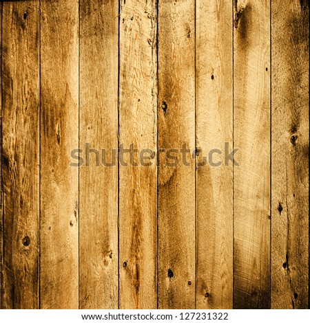 weathered wood fence ; abstract grunge background - stock photo