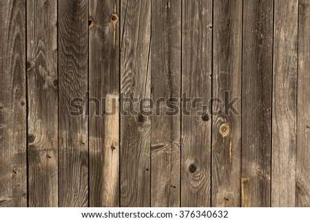 Weathered wood wall texture. Architectural background. - stock photo