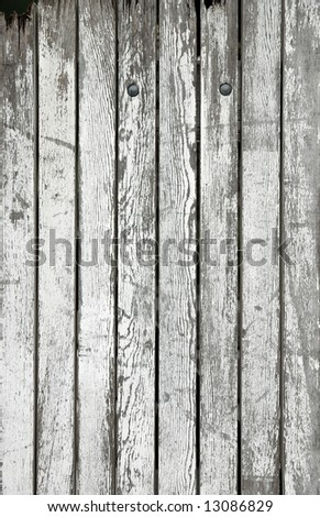 Weathered wooden boards - stock photo
