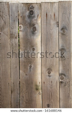 Weathered Wooden Door Background - stock photo
