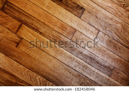 Weathered wooden planks. Abstract backdrop for design  - stock photo