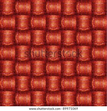 Weave pattern - stock photo