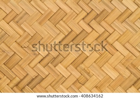 Weave pattern of bamboo background