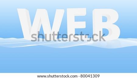 Web - stock photo