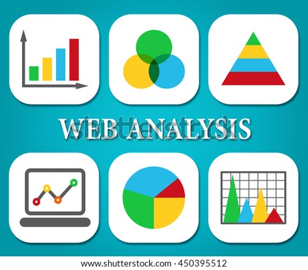 Web Analysis Meaning Business Graph And Analyse - stock photo