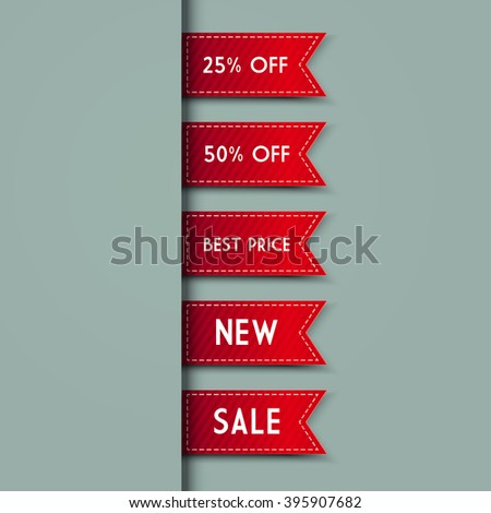 Web Bookmarks for you text. illustration - stock photo