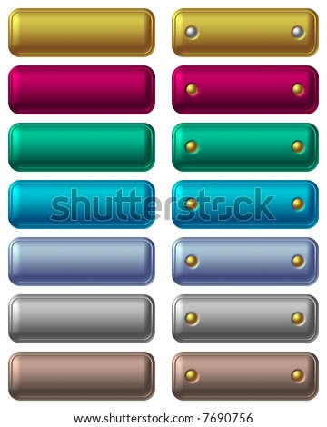 Web Buttons - stock photo