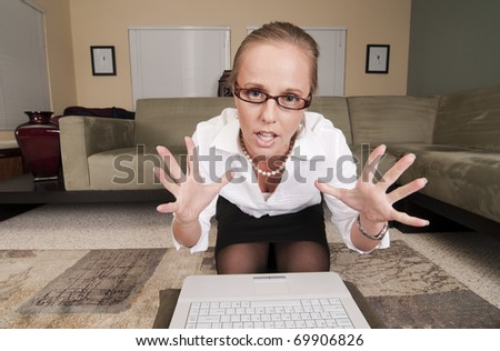 Web Cam Striptease #8.  