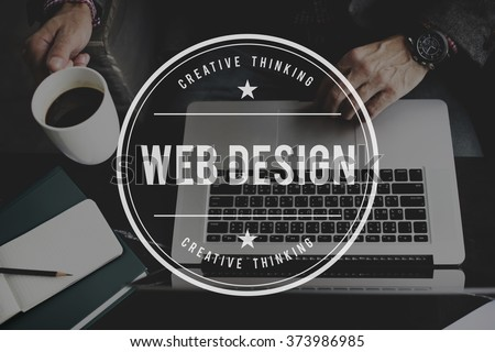 Web Design Website Homepage Ideas Programming Stock Photo & Image ...