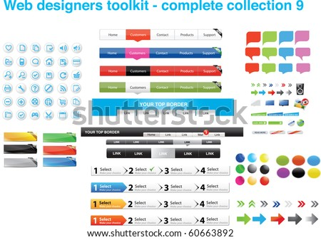 Web designers toolkit - Complete collection 9