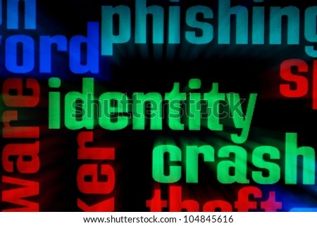 Web idendity - stock photo