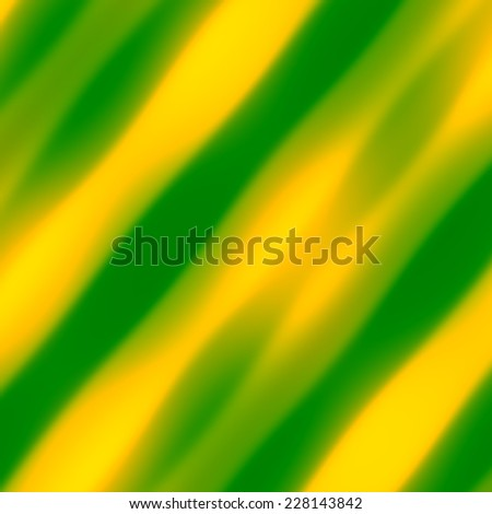 Web Or Brochure Background - An Abstract Artsy Decorative Yellow Green Design - Minimalistic Modern Digital Tablet Backdrop - Fantasy Soft Blurred Rays of Light - Unique Creative Diagonal Stripes - stock photo