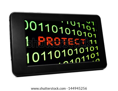 Web protect - stock photo