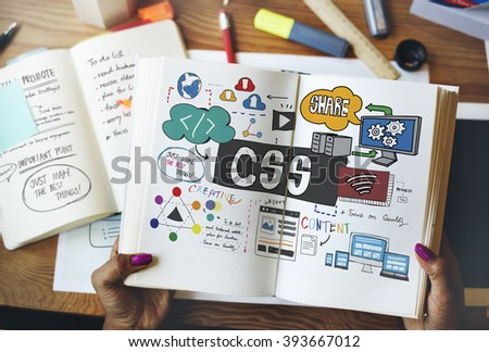 Web Web Design Technology Network Online Concept - stock photo
