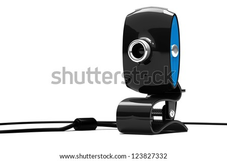 webcam, 3d - stock photo