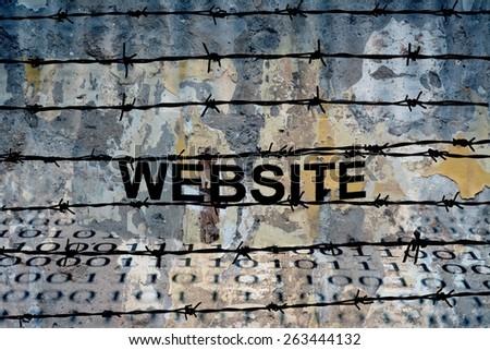Website - stock photo