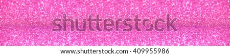 website banner image of pink shining glitter background. panorama - stock photo