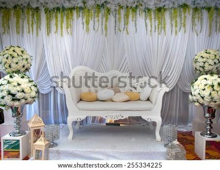 Wedding accessories beautiful wedding vintage chairs stock photo wedding accessories beautiful wedding vintage chairs with a wedding decorations junglespirit Image collections