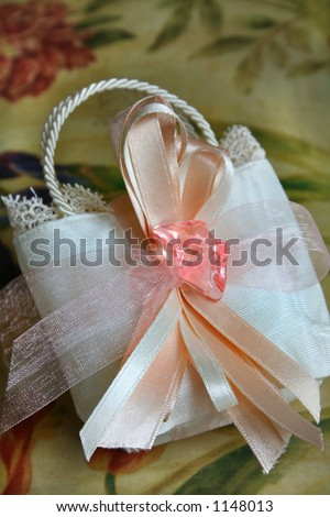 wedding bag of sweets