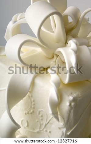 Wedding cake - stock photo