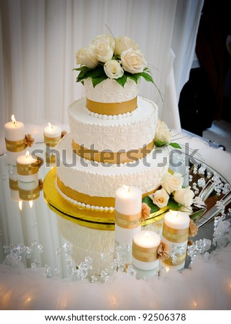 Wedding cake - stock photo