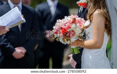Wedding Ceremony - stock photo
