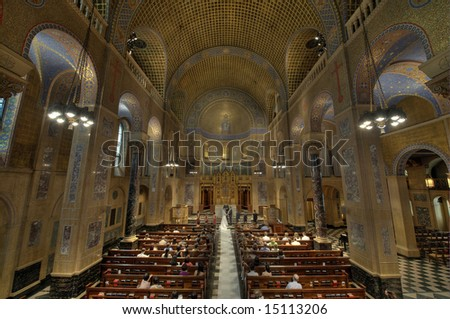 Wedding ceremony in church - New York - Park Avenue