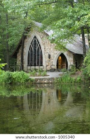 Wedding Chapel - stock photo