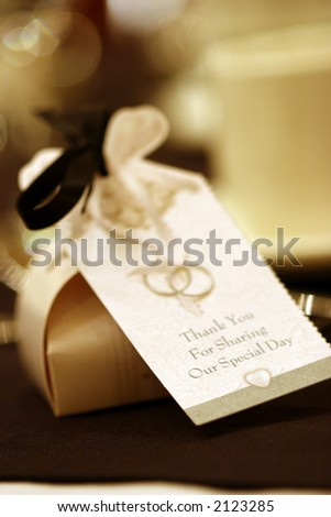 Wedding Chocolates - stock photo