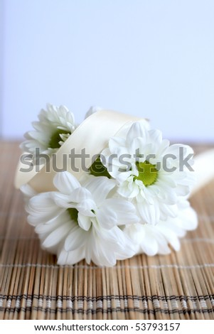 Wedding daises - stock photo
