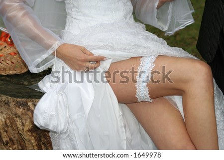 Wedding day moments - stock photo