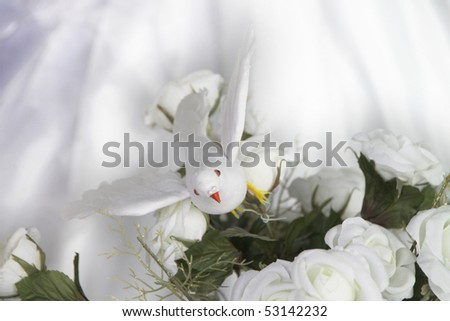 Wedding decoration for different uses - stock photo