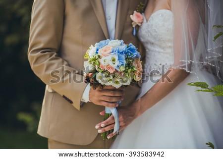 wedding decorations - stock photo