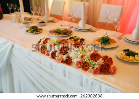 wedding flower bouquet - stock photo