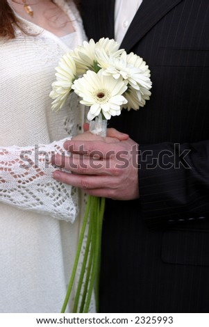 Wedding flowers I - stock photo