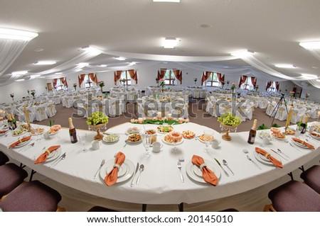 Wedding party - stock photo