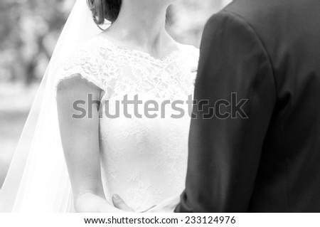 Wedding photo - stock photo