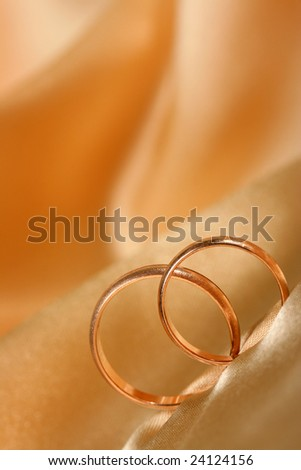 wedding rings can be used as a background