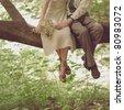 wedding romantic - stock photo