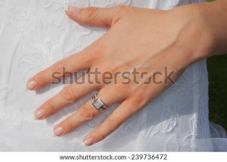 Wedding S Hand Stock Photo Edit Now 239736472 Shutterstock