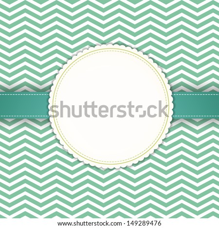 Wedding styled card with floral ornament design. Perfect as invitation or announcement. For vector version, see my portfolio.  - stock photo