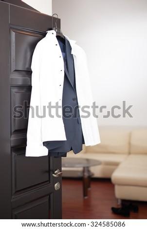 Wedding suit - stock photo