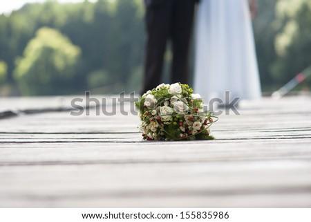 Wedding theme - stock photo
