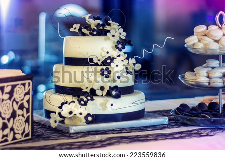 weddings cake - stock photo