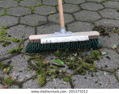 weed removal - stock photo