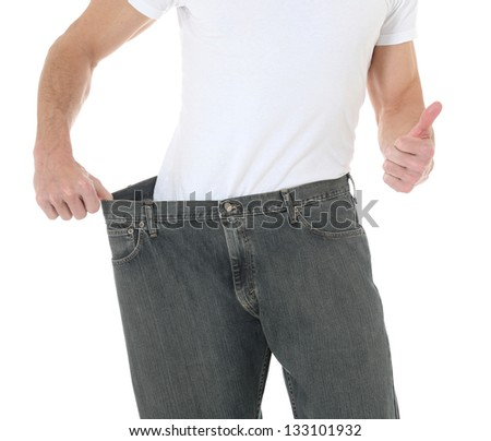 Weight Loss Goal - stock photo