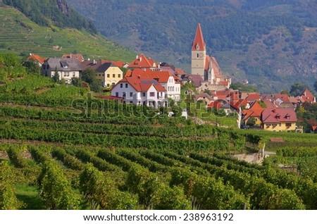 Weissenkirchen in Wachau  - stock photo