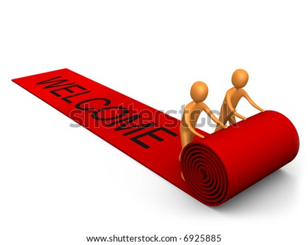 Welcome Success - stock photo