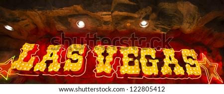 Welcome To Las Vegas neon sign, Las Vegas, Nevada - stock photo