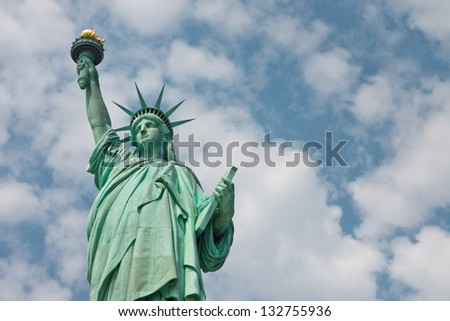 Welcome to New York City - The Statue of Liberty